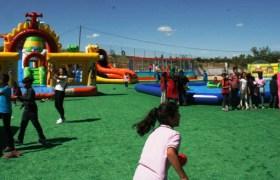 Ömerli'de çocuklara oyun merkezi