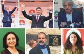 Mardin'i mecliste  2 AK Partili, 4 HDP'li vekil temsil edecek
