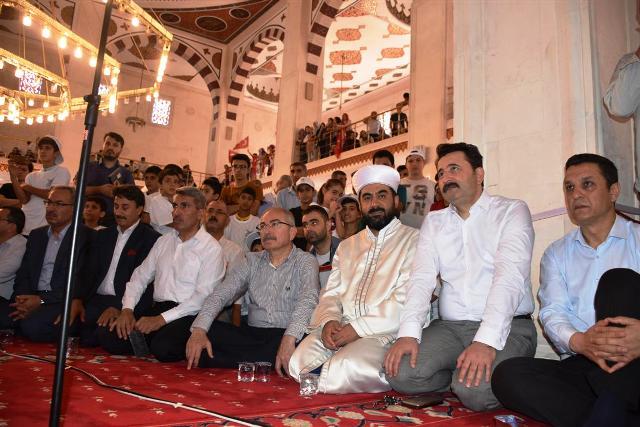 15 Temmuz etkinlikleri Camide yapıldı