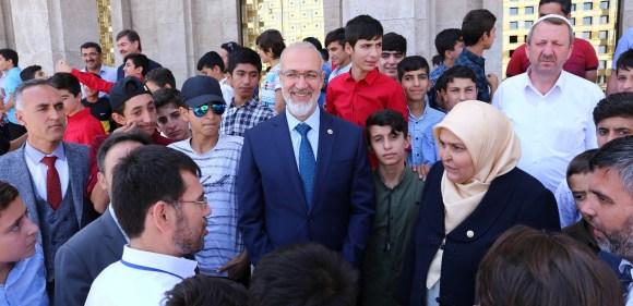 Terör mağduru gençler Mecliste biraraya geldi