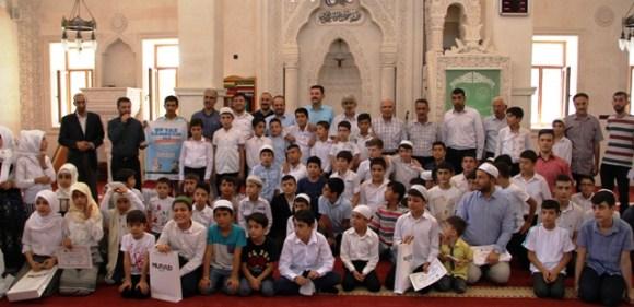 Midyat'ta yaz Kur'an kursları sona erdi