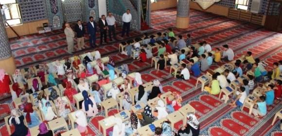 Artuklu'da yaz Kur'an kursları devam ediliyor