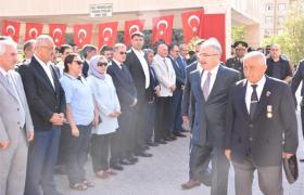 Gaziler Günü Törenlerle Kutlandı