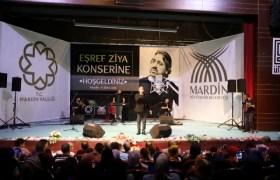 Eşref Ziya konserine yoğun ilgi