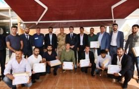 Afrin'den dönen güvenlik korucuları unutulmadı