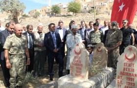 Midyat'ta terör örgütü PKK'nın katlettiği 26 kişi anıldı