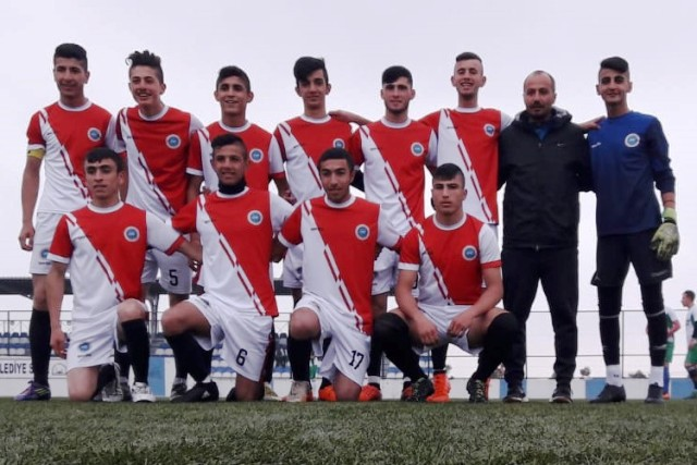 Midyat'ta okullar arası futbol turnuvası