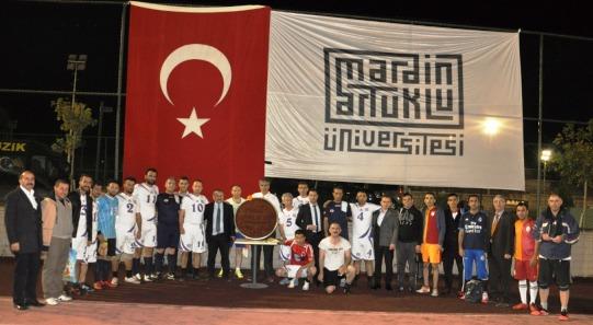 """""""Kurumlararası Cumhuriyet Futbol Turnuvası"""" başladı"""