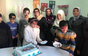 AK Partili Kadınlar engellileri unutmadı