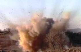 Teröristlerin yola tuzakladığı patlayıcı imha edildi