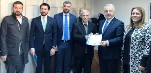 Ak Parti Mardin Teşkilatı Aday Listelerini Seçim Kurullarına Teslim Etti