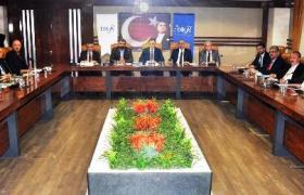 Belediye Başkan Adayları  DİKA'da buluştu