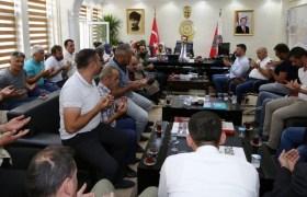 TÜGŞAV'dan Mardin  polisine başsağlığı ziyareti