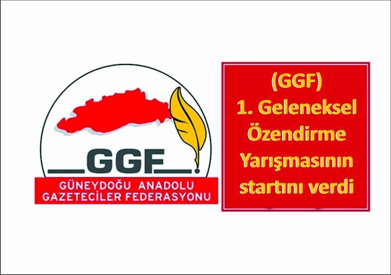 (GGF) 1. Geleneksel Özendirme Yarışmasının startını verdi