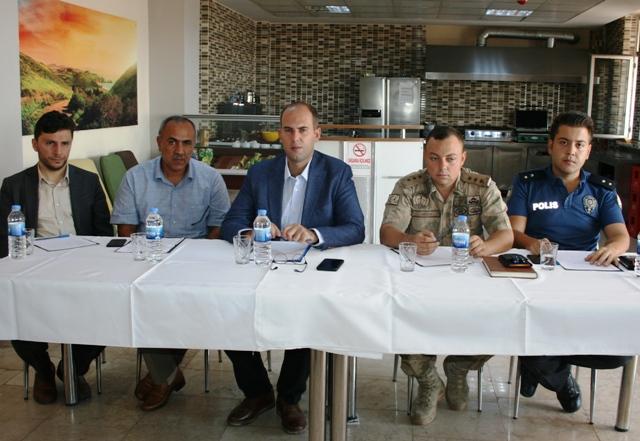Ömerli'de okul bölgeleri güvenliği toplantısı