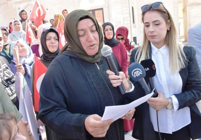 Mardinli Kadınlarından  Diyarbakır Annelerine destek