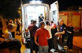 Nusaybin'de hafif  yaralanan 5 kişi  taburcu edildi