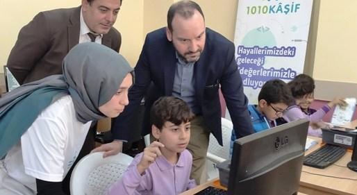 """Mardinli öğrenciler """"1010 Kaşif"""" arasına katıldı"""