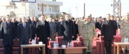 Teröristlerce 33 yıl önce katledilen 10 kişi mezarları başında anıldı
