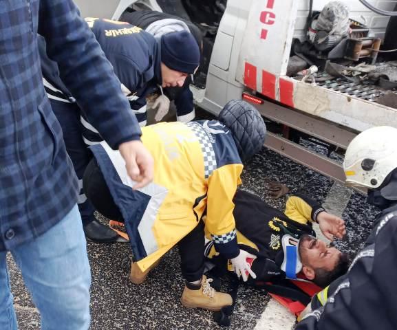 Trafik kazalarında 8 kişi yaralandı