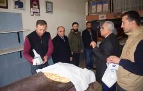 Belediye ve Orman Müdürlüğü  ekiplerinden Korona virüs denetimi