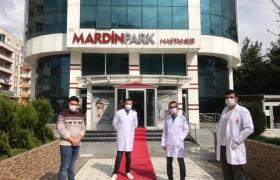 Mardin'de koronavirüs tedavisi gören 3 kadın taburcu edildi