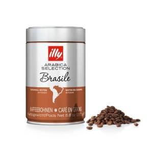 illy, szemes kávé Arabica Selecion Brazília, 250 gr