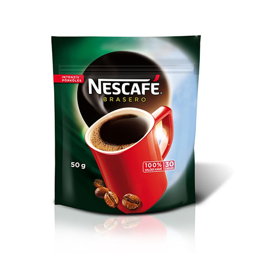 Nescafé Brasero utántöltő 50g