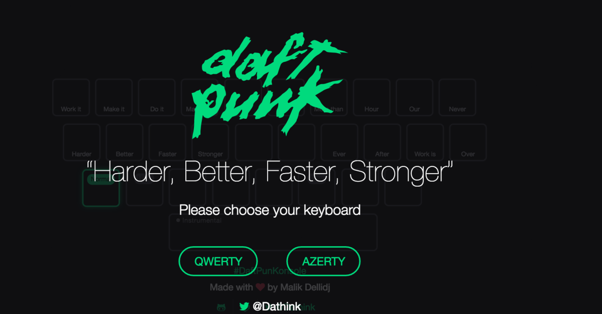 Daft Punk Keyboard