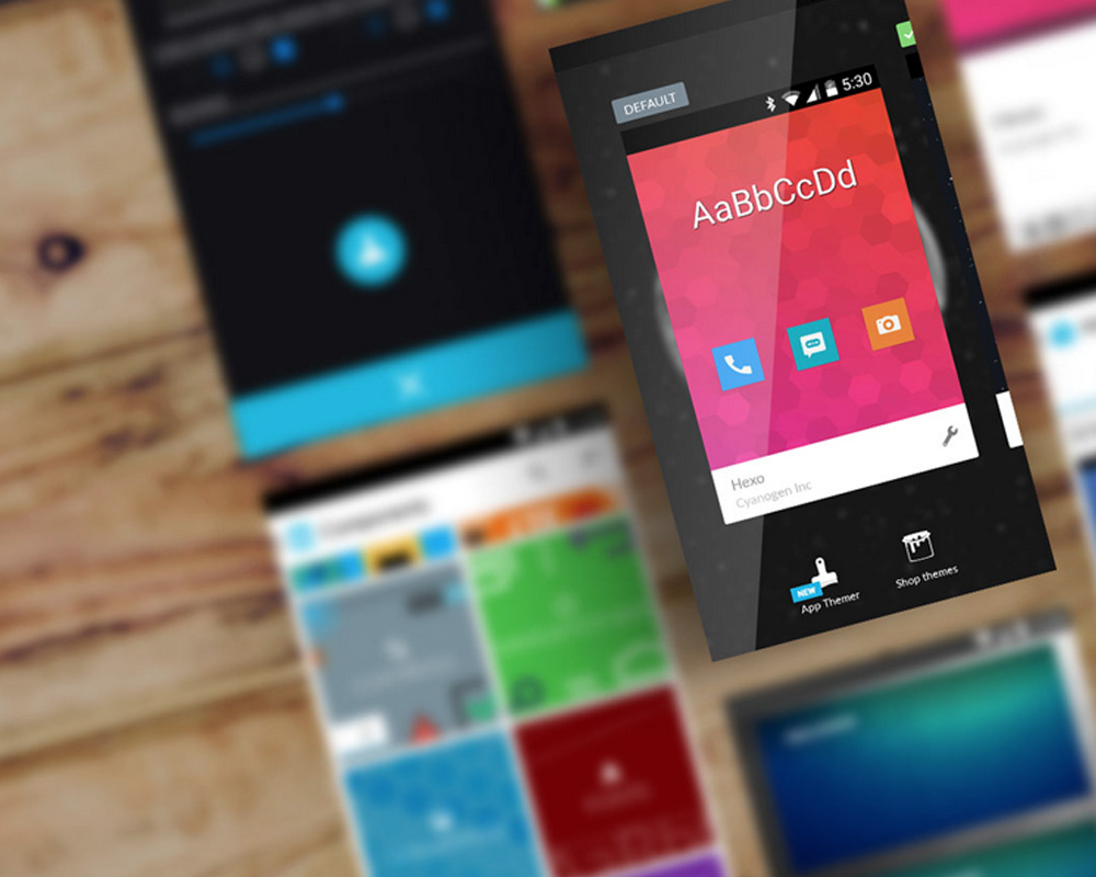 A Preview of Themes in Cyanogen OS 12