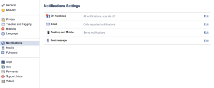 How to disable Facebook Popup Notifications(4)