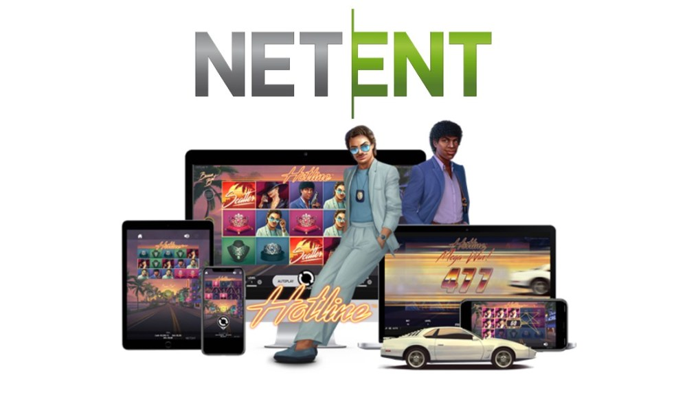 NetEnt goes retro with 80's themed slot Hotline™