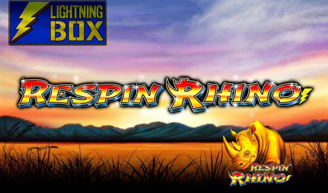 LIGHTNING BOX CHARGES AHEAD WITH RESPIN RHINO SLOT