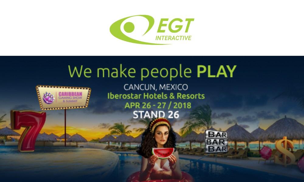 EGT Interactive @ CGS Cancun, Mexico