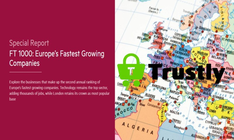 FT: Trustly one of Europe's fastest growing companies