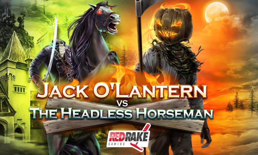 Red Rake Gaming: JACK O'LANTERN VS THE HEADLESS HORSEMAN