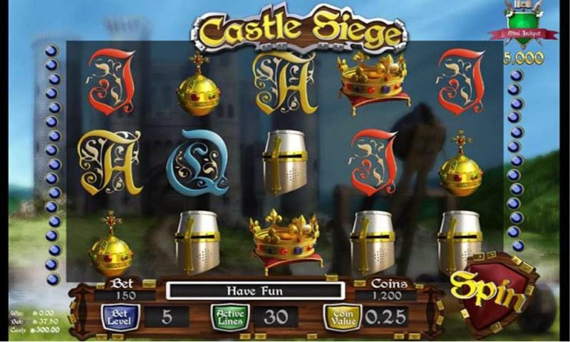 Slotland's New Castle Siege Slot