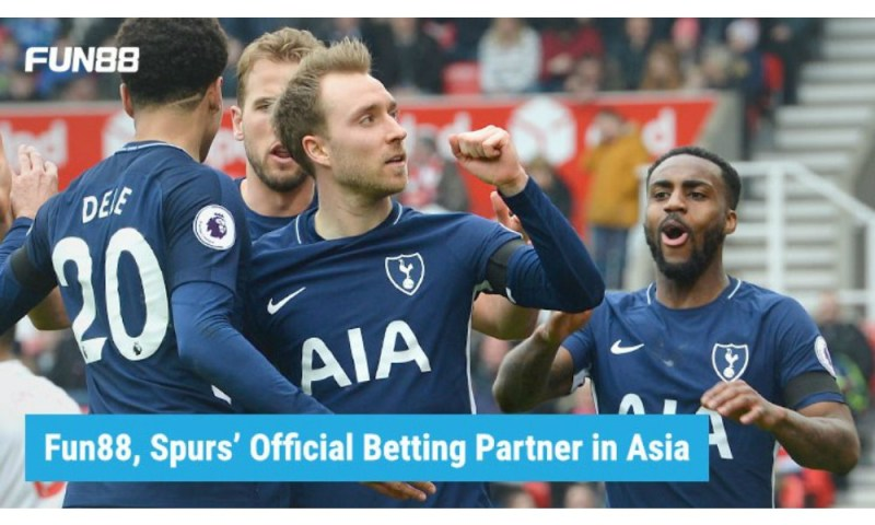 Tottenham nets extension with Fun88