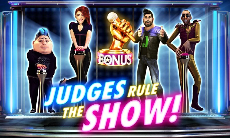 New Video Slot Red Rake Gaming: JUDGES RULE THE SHOW