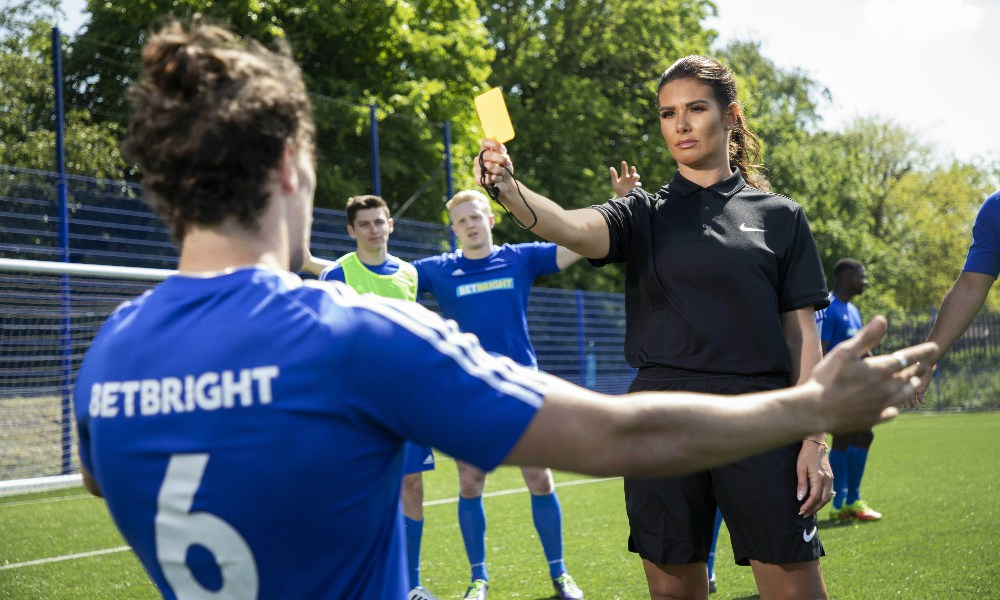 Rebekah Vardy Trains To Become World Cup Referee