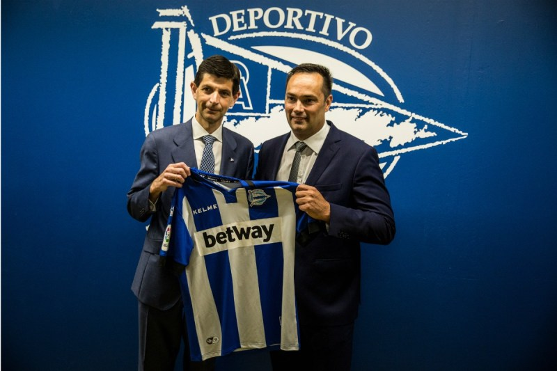 Betway continues Spanish sponsorship push with Deportivo Alavés deal