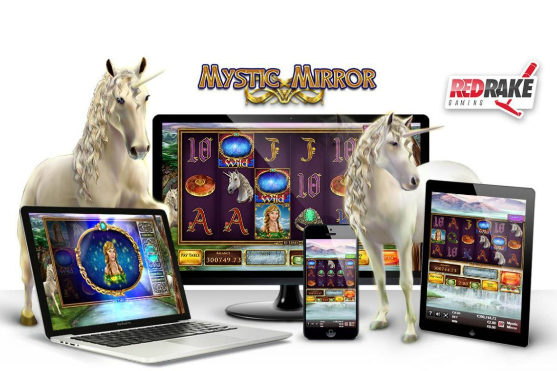 New Video Slot Red Rake Gaming: MYSTIC MIRROR