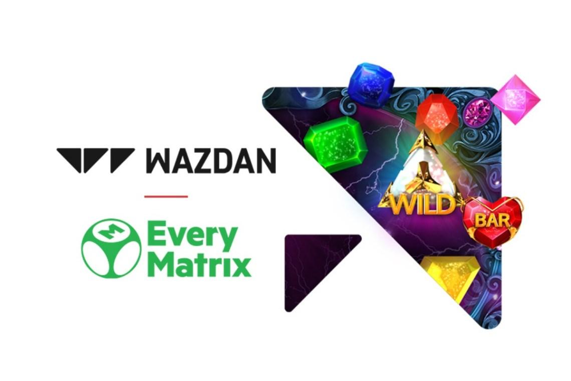 Wazdan go live with EveryMatrix