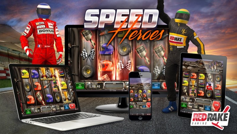 SPEED HEROES: RED RAKE GAMING's new video slot machine that will drive racing enthusiasts wild