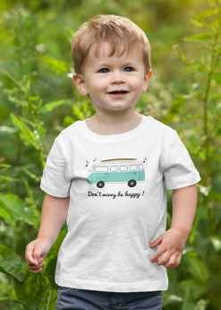 tshirt enfant mixte Don't Worry Be Happy