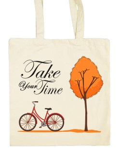 Tote bag Prend ton temps