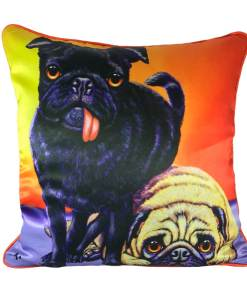 DOUBLE TROUBLE CUSHION COVER