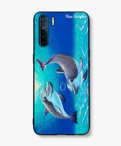 TWO DOLPHINS - OPPO PHONE CASE COVER
