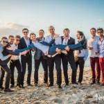 Mariage Réunion Ma Régisseuse wedding planner photo de groupe marié plage