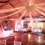 mariage, lieu, lumière, décoration,